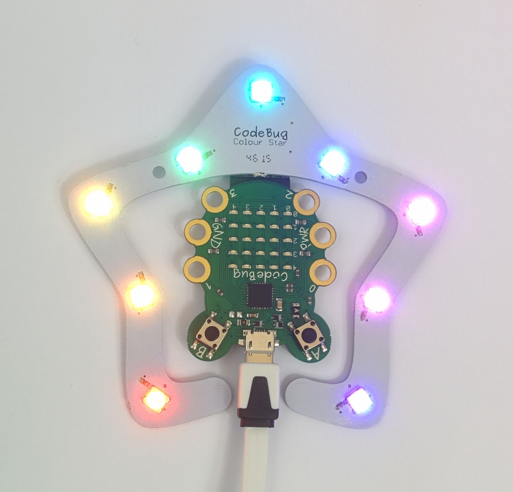CodeBug ColourStar