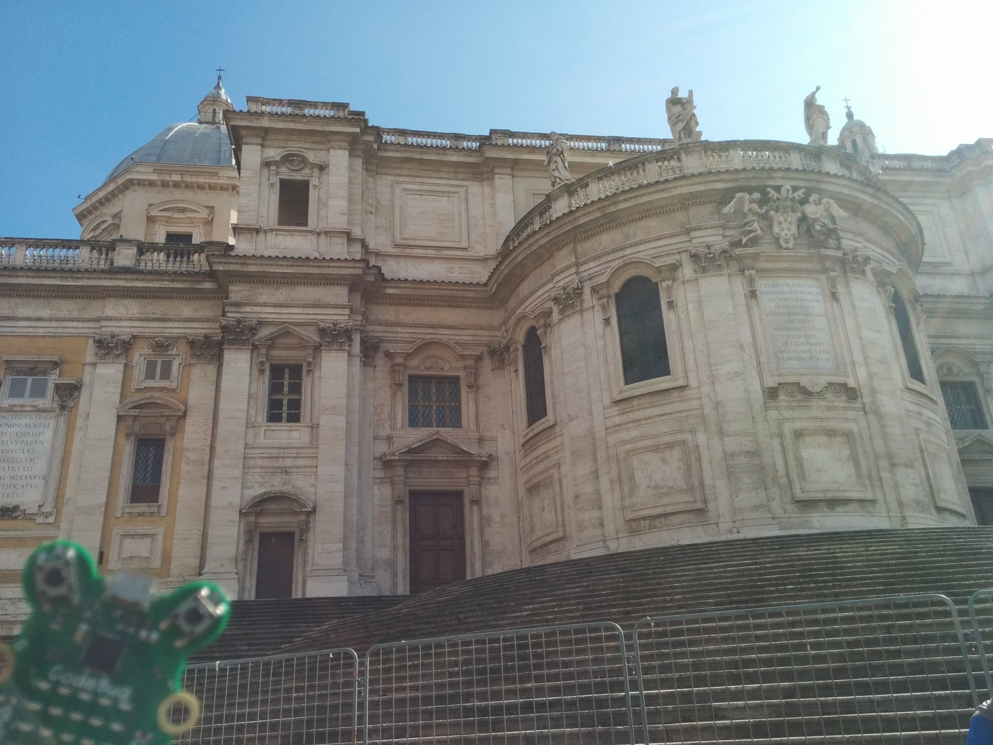 CodeBug sightseeing in Rome