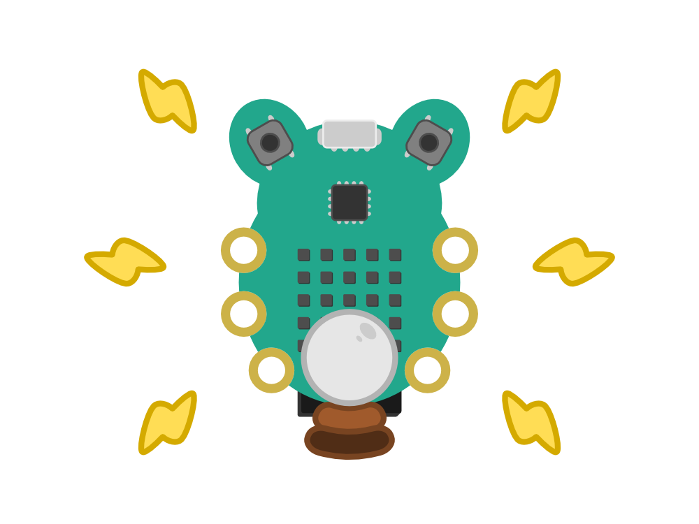 CodeBug graphic fortune teller