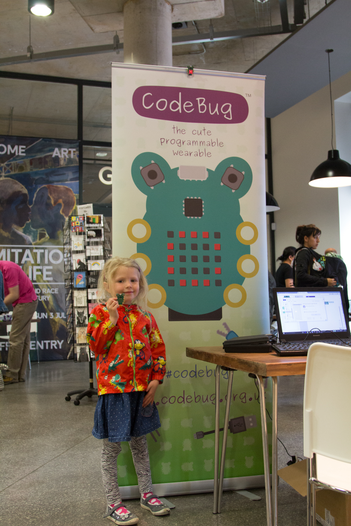 CodeBug at HOME
