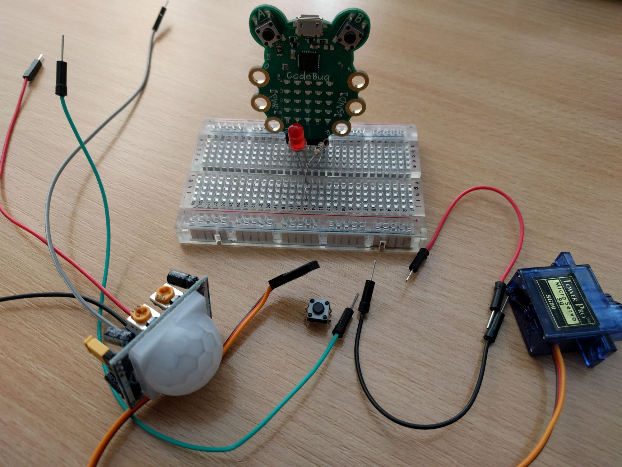 CodeBug breadboard