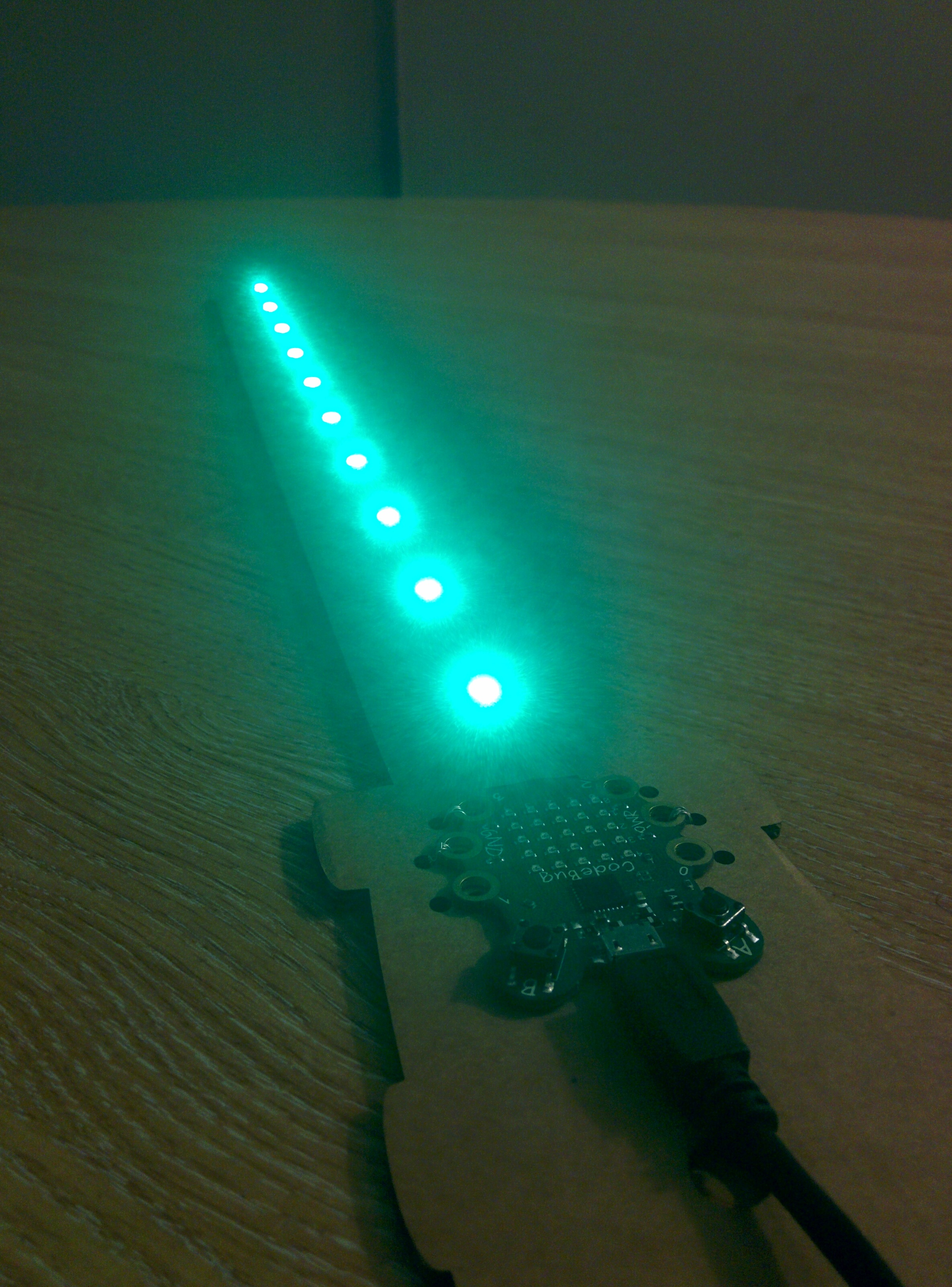 GlowBug lightsaber